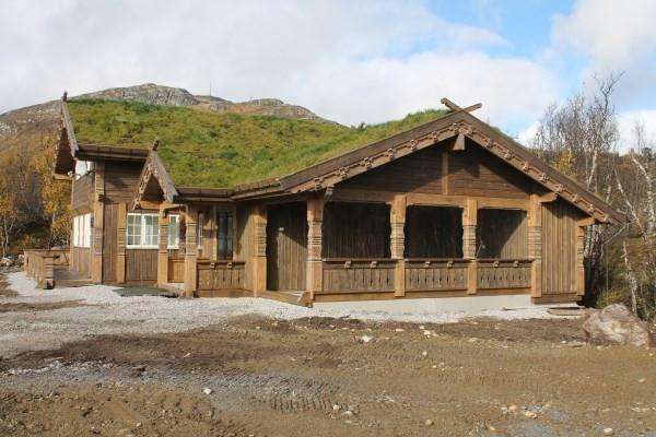 Fra en tilsvarende hytte - - Buen modell Bortelid - Kundetilpasninger kan forekomme.