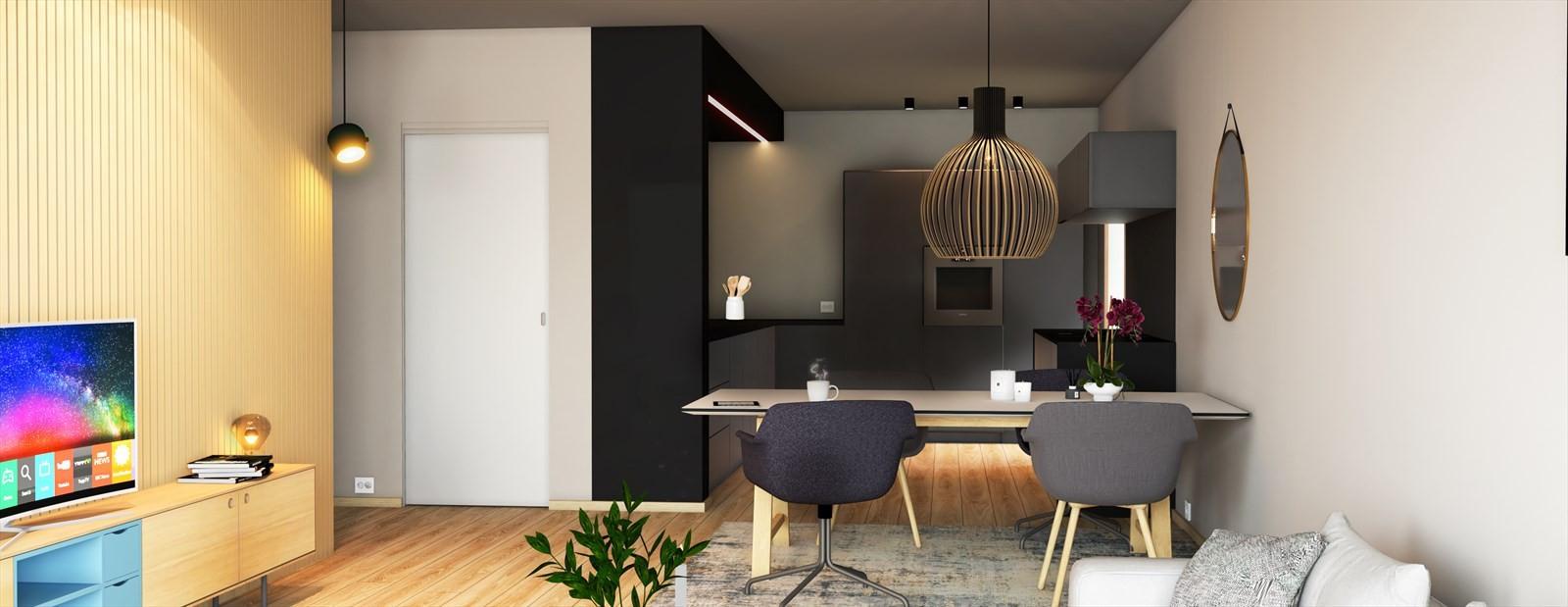 Meget tiltalende kjøkken som leveres av av Monter Tromsø og vil være fra produsenten Aubo.