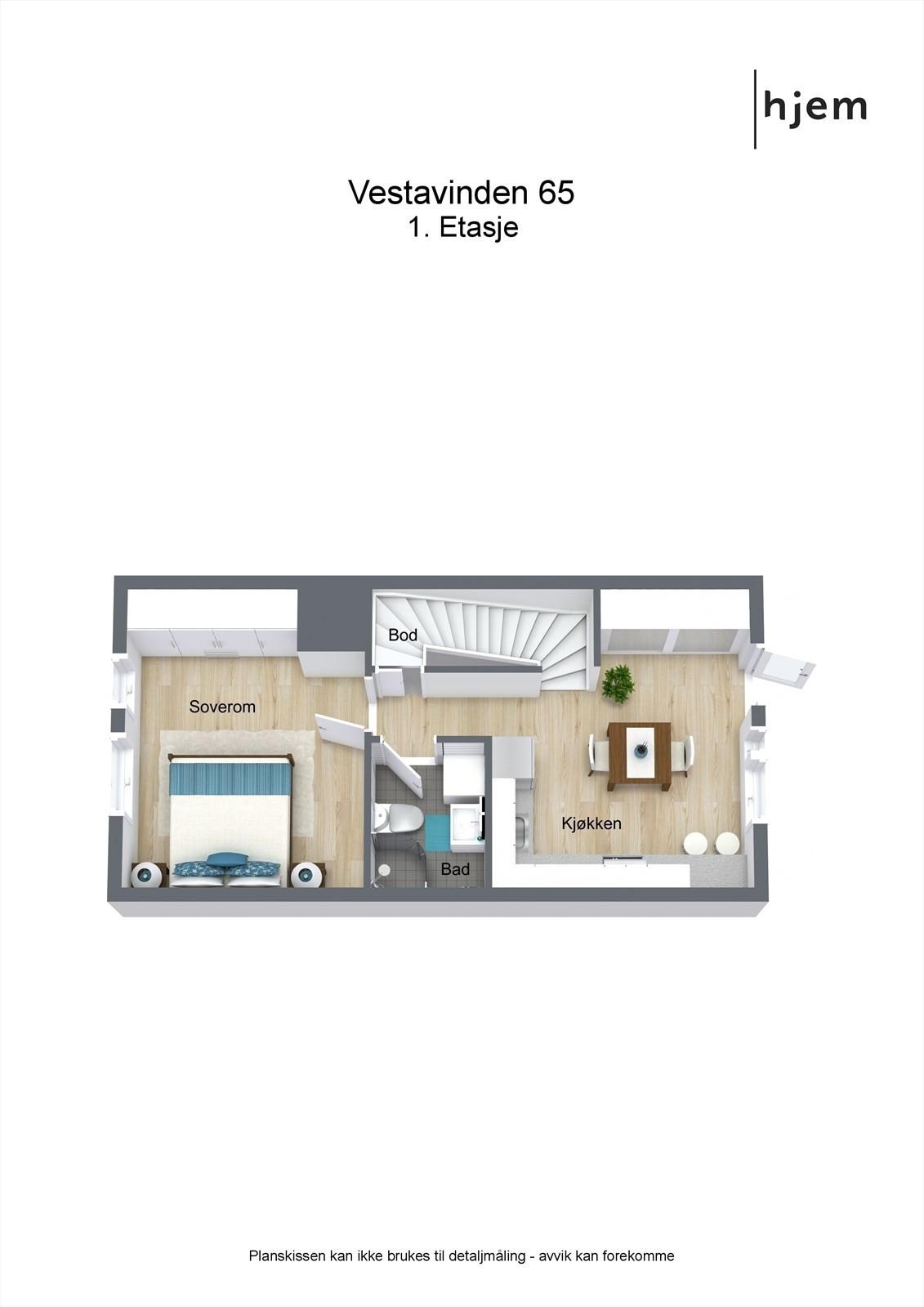 Plantegning 3d, 1. etasje