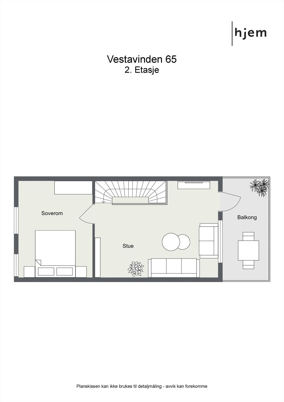 Plantegning 2. etasje