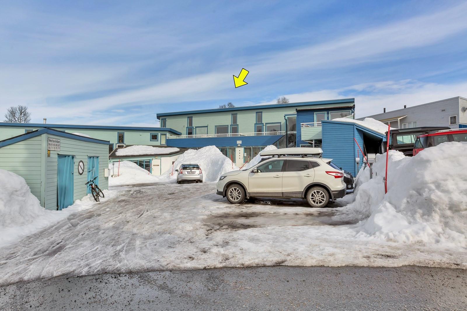 Vestavinden 65 ligger i et meget attraktiv boligområde på vestsiden av Tromsøya