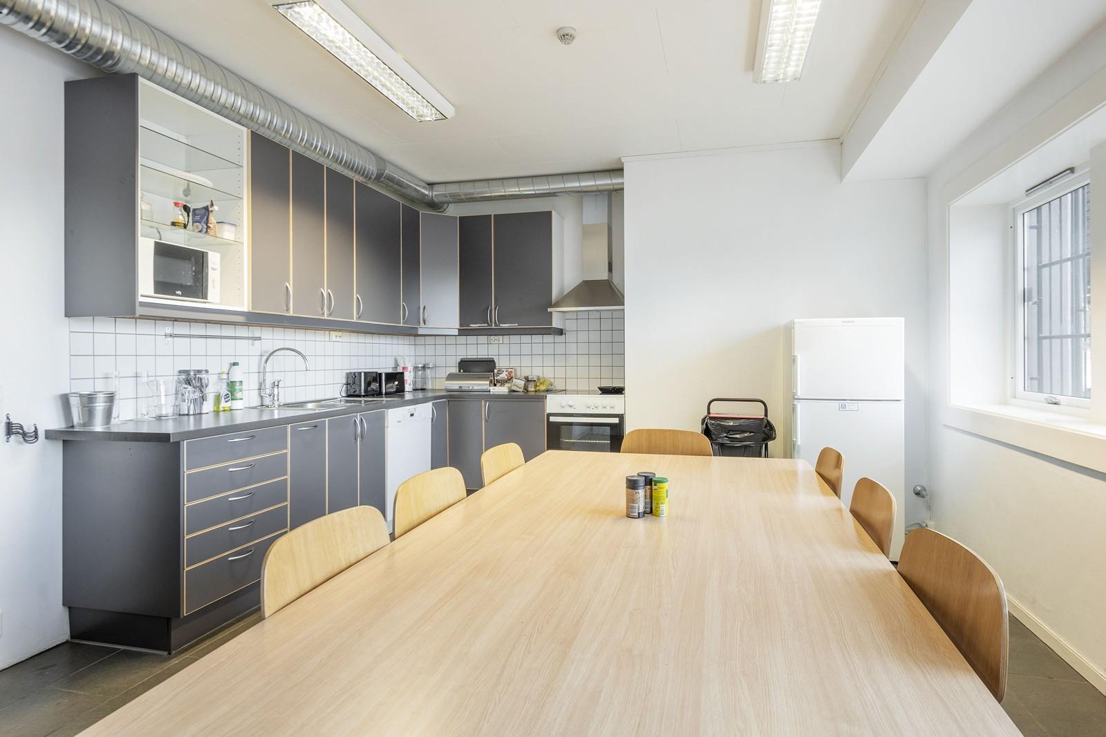 Moderne kjøkken/spiserom