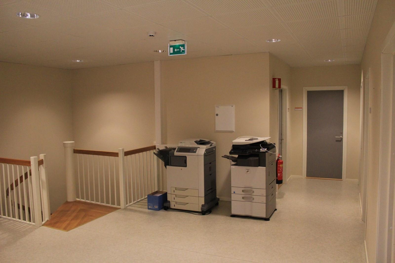 Korridor 2. etasje.