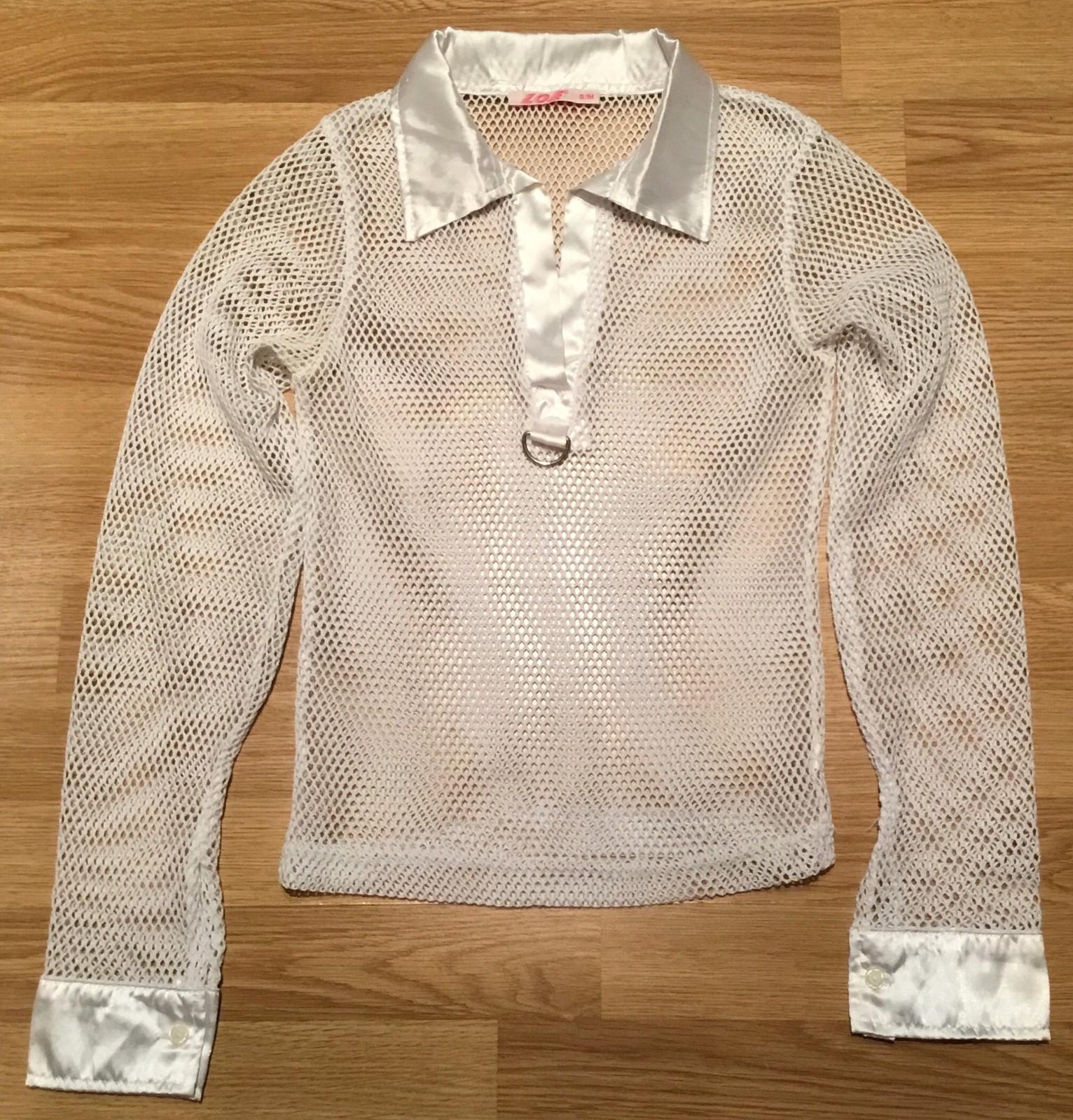 6 T skjorter muten krage selges billig ulike merker str