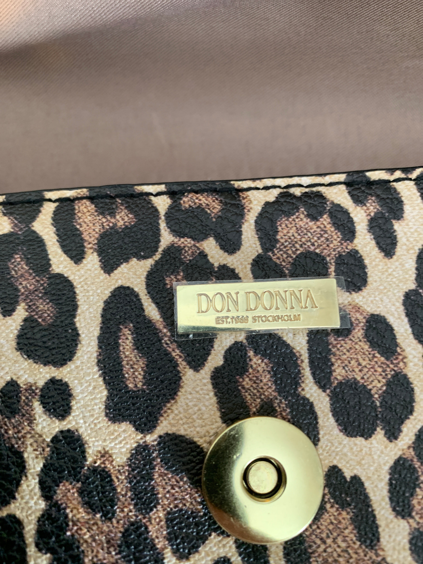 leopard veske don donna
