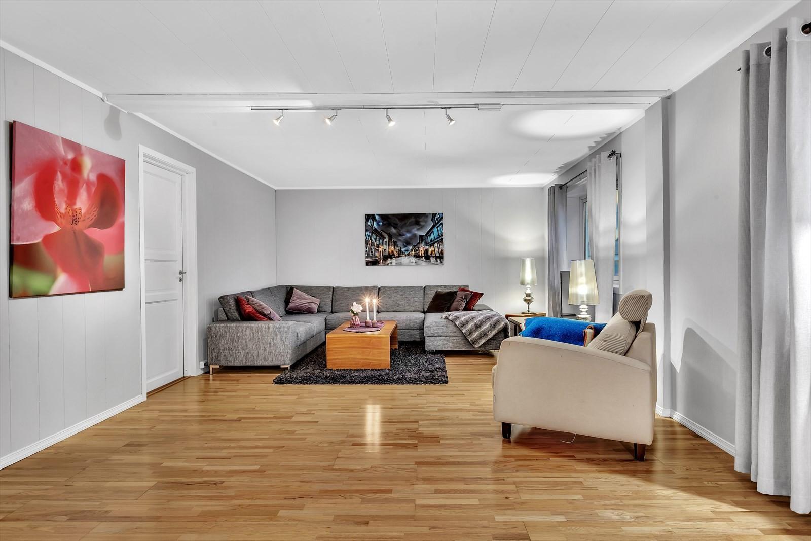 Stor koselig stue