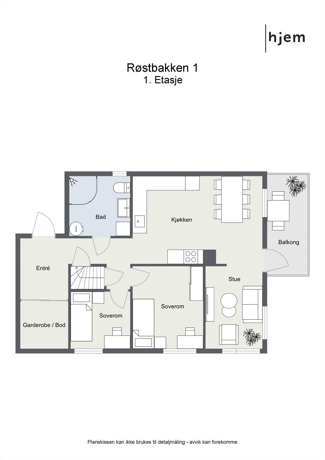 2 etasje (plan 1).