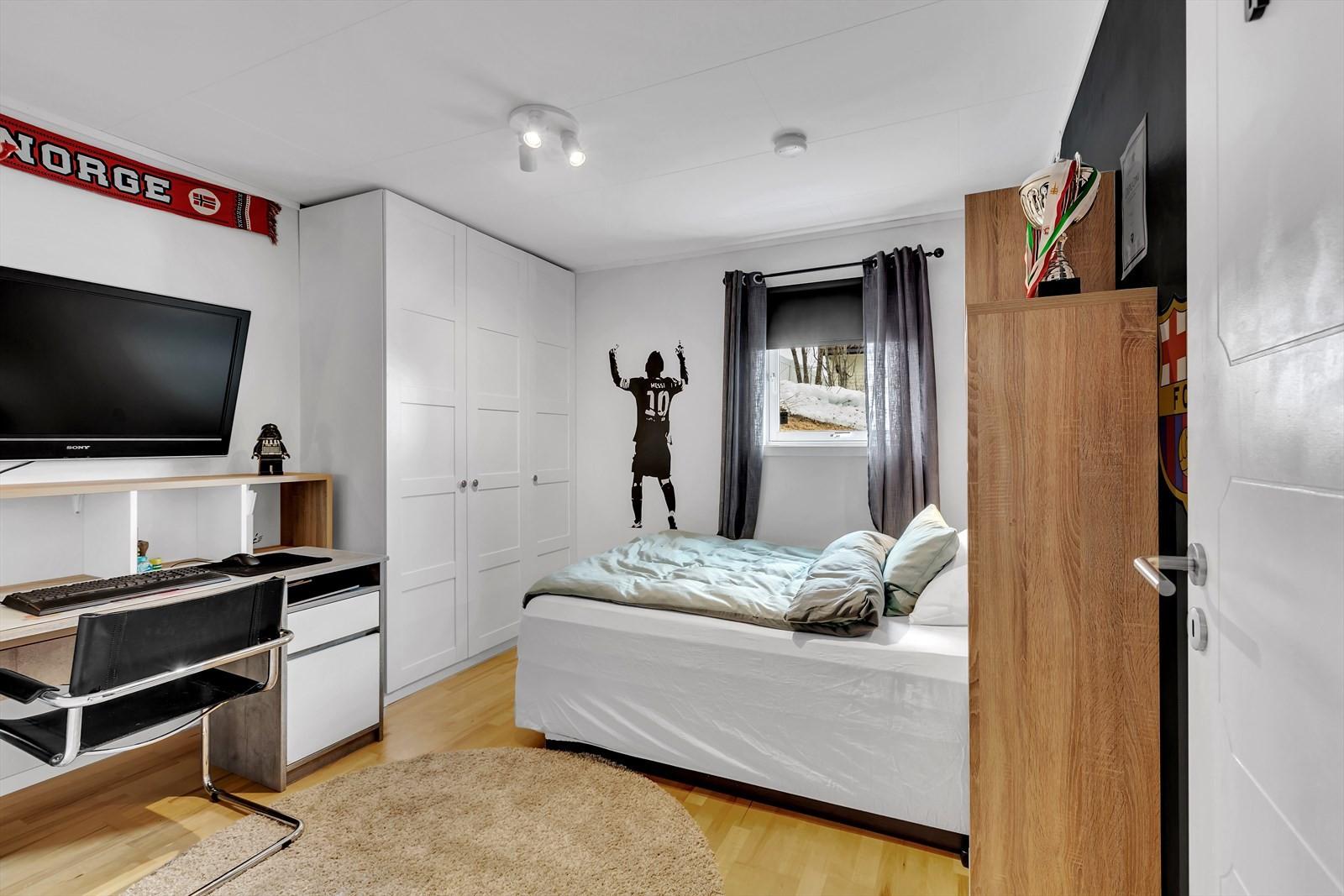 Alle soverommene har god størrelse og er oppgraderte.