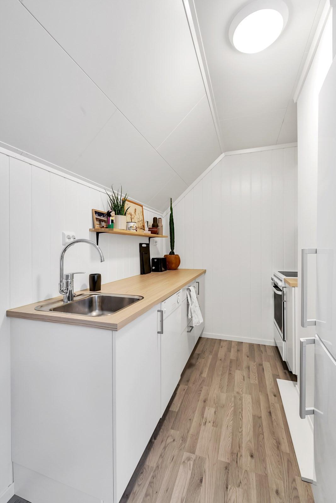 Kjøkken på loftet