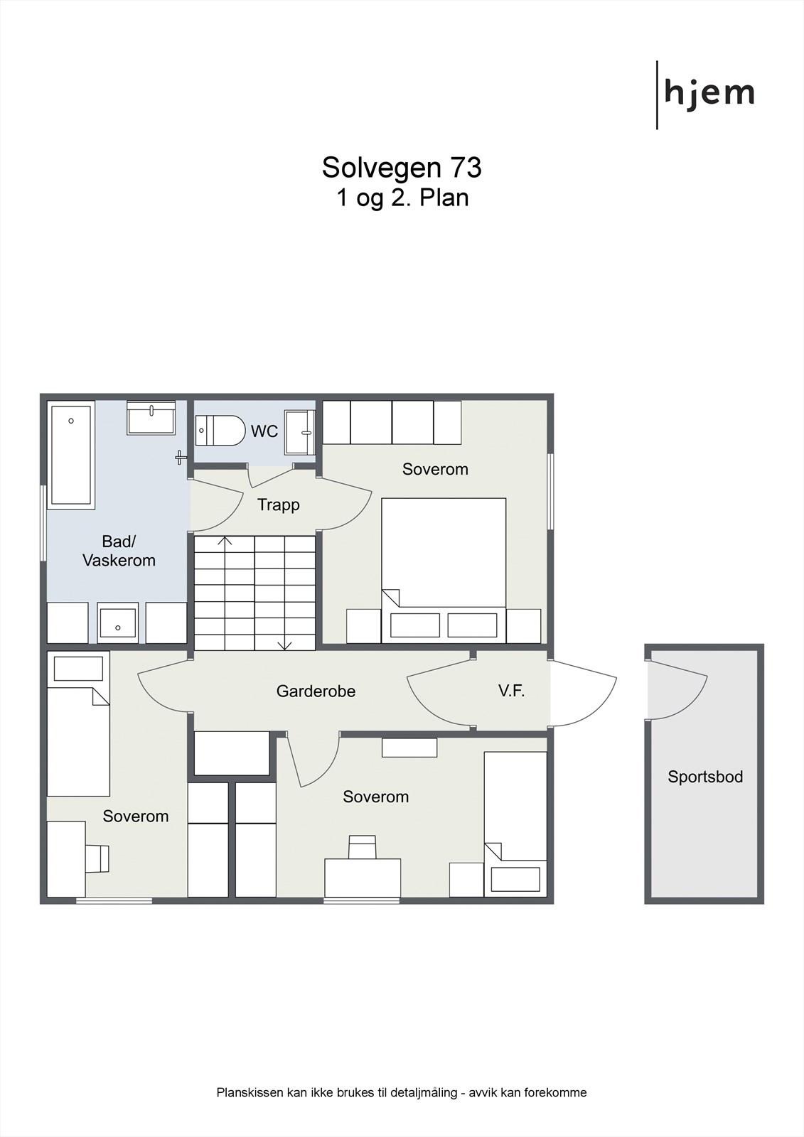Floorplan letterhead - Solvegen 73 - 1 og 2. Plan - 2D Floor Plan.jpg
