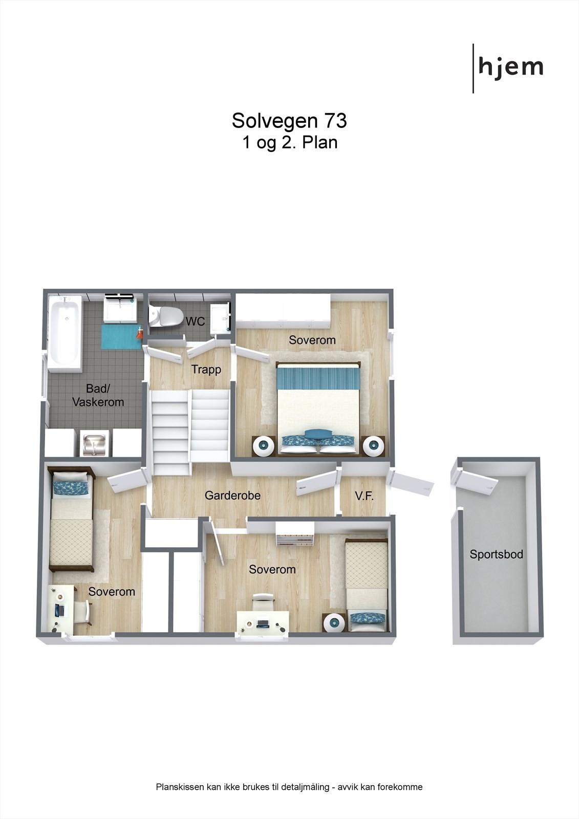 Floorplan letterhead - Solvegen 73 - 1 og 2. Plan - 3D Floor Plan.jpg