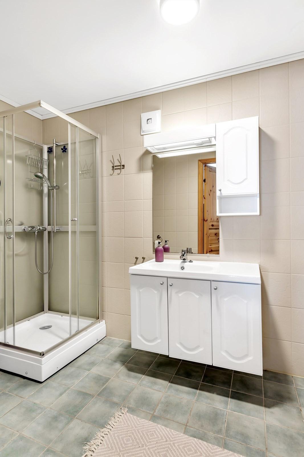 Utleieleilighet bad/wc/vask