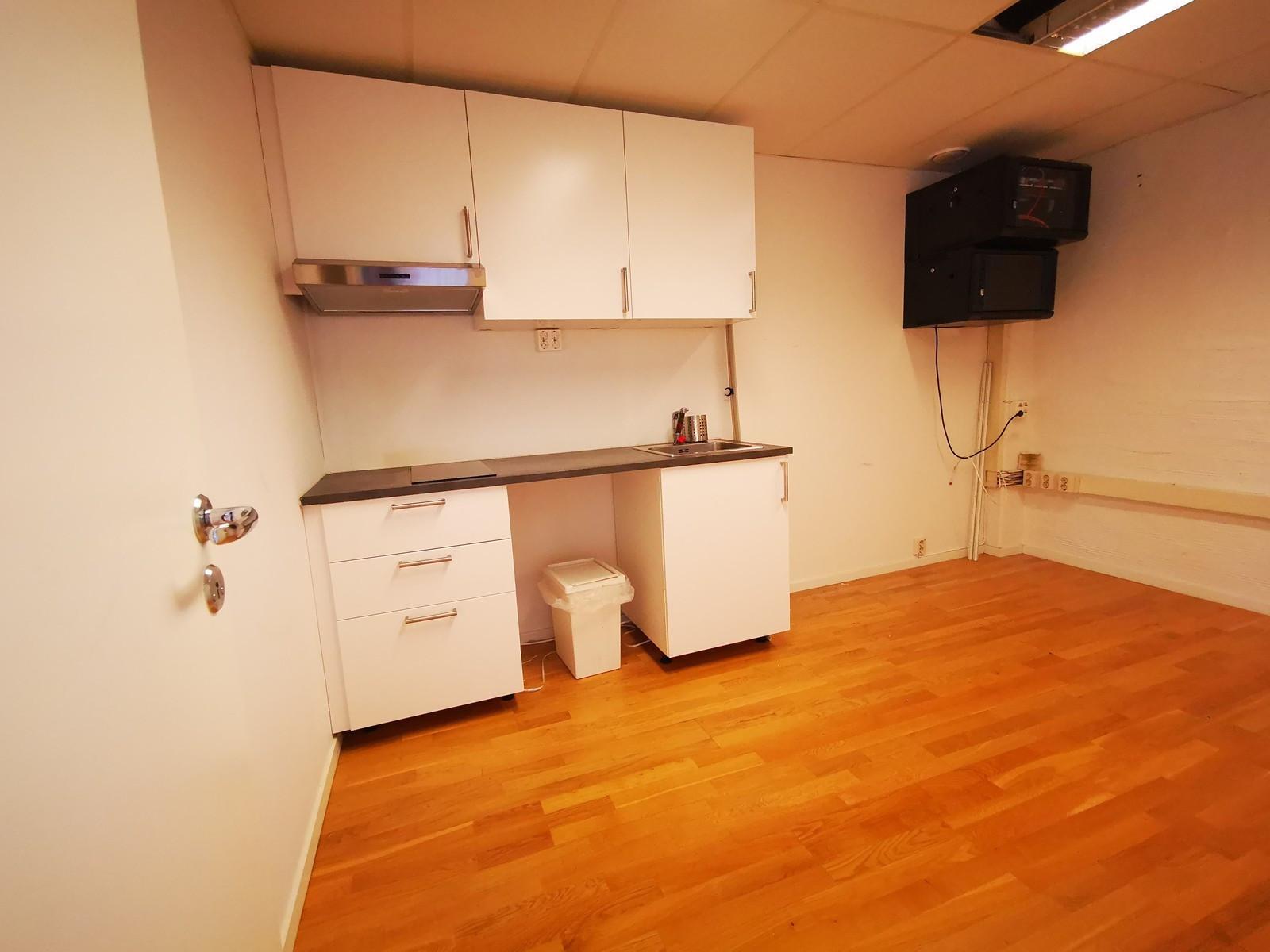 Kjøkken med plass til spiseplass