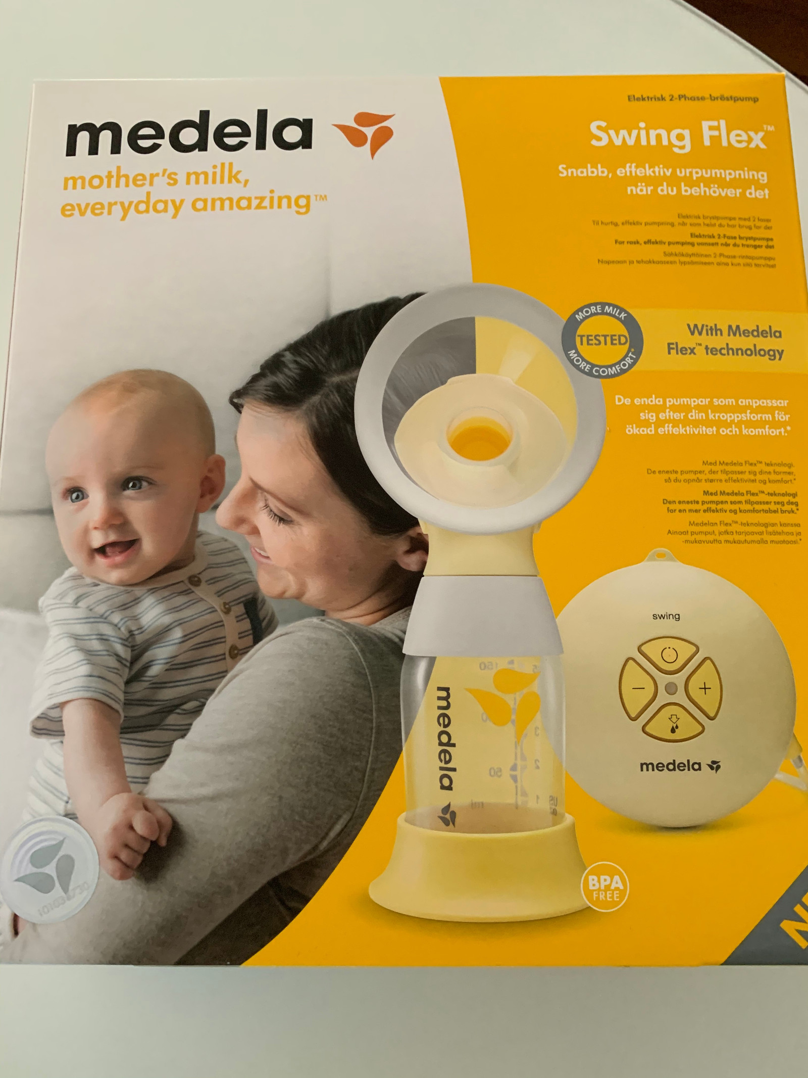Medela lader swing maxi | FINN.no