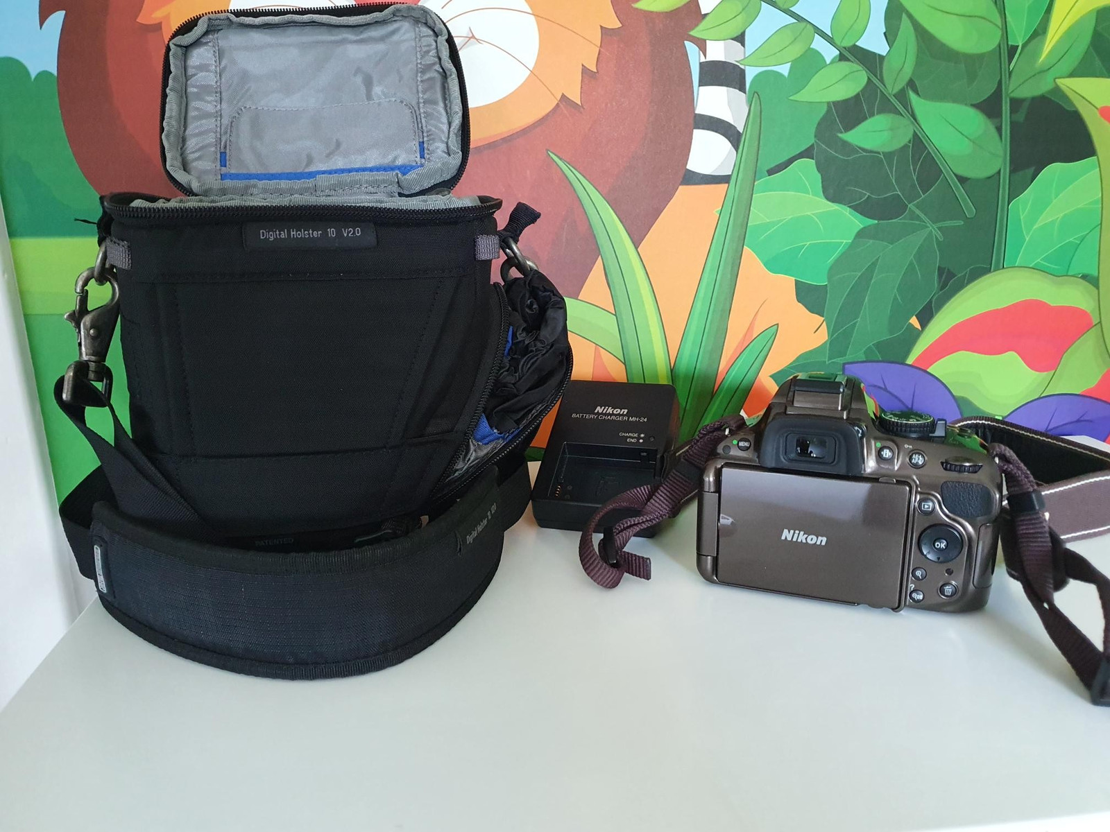 NIKON battery charger MH 24 | FINN.no