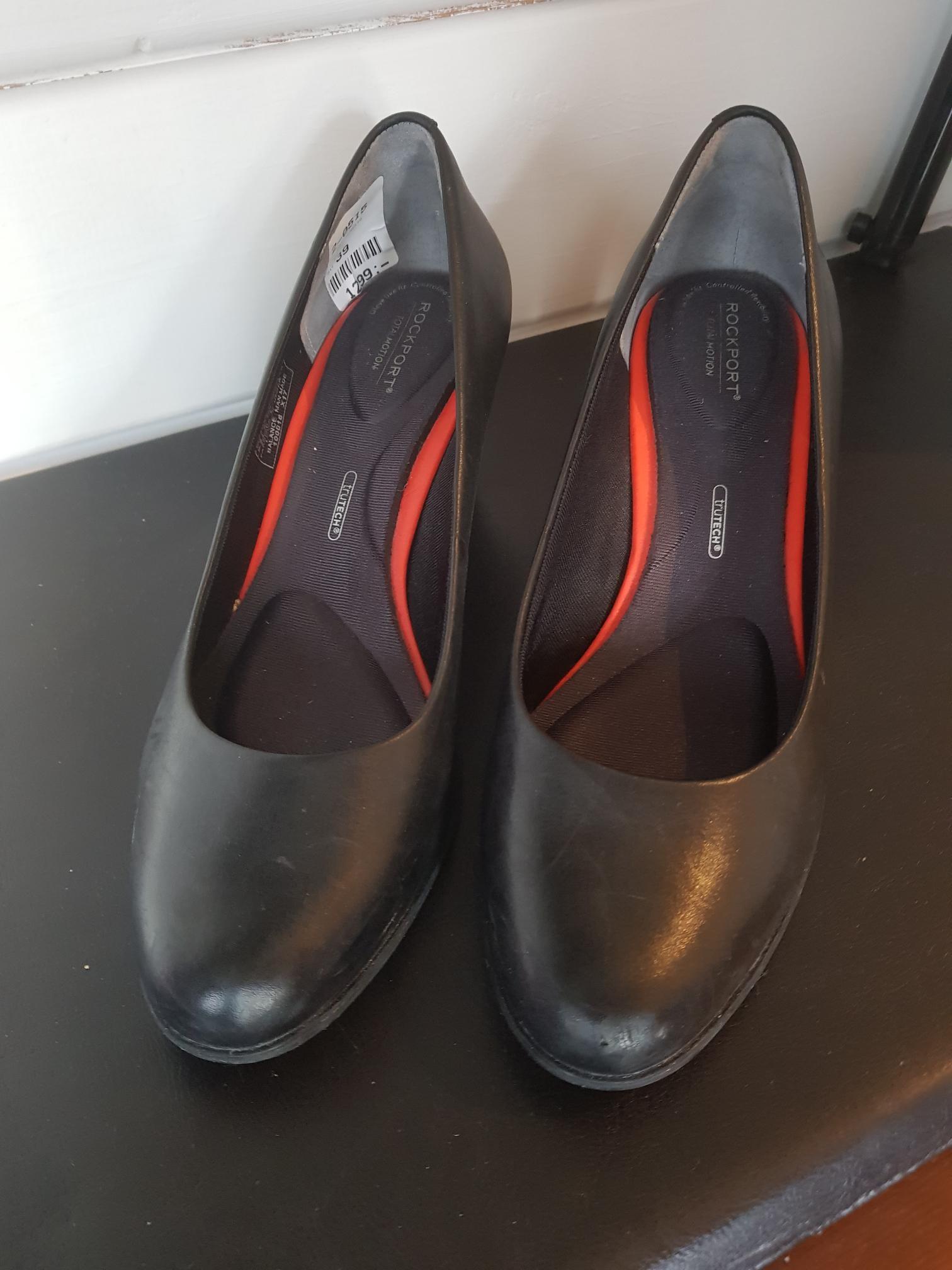 Carmela sko semsket skinn str 39 | FINN.no