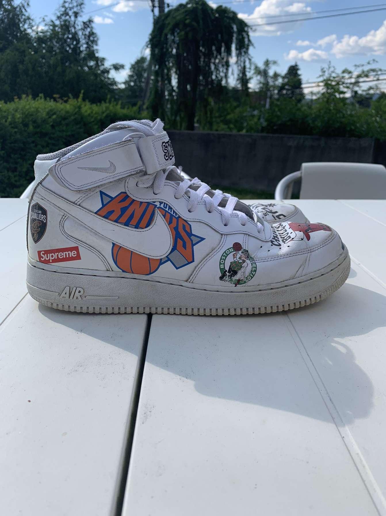 Air Force 1 Nike x NBA x Supreme 2018   FINN.no