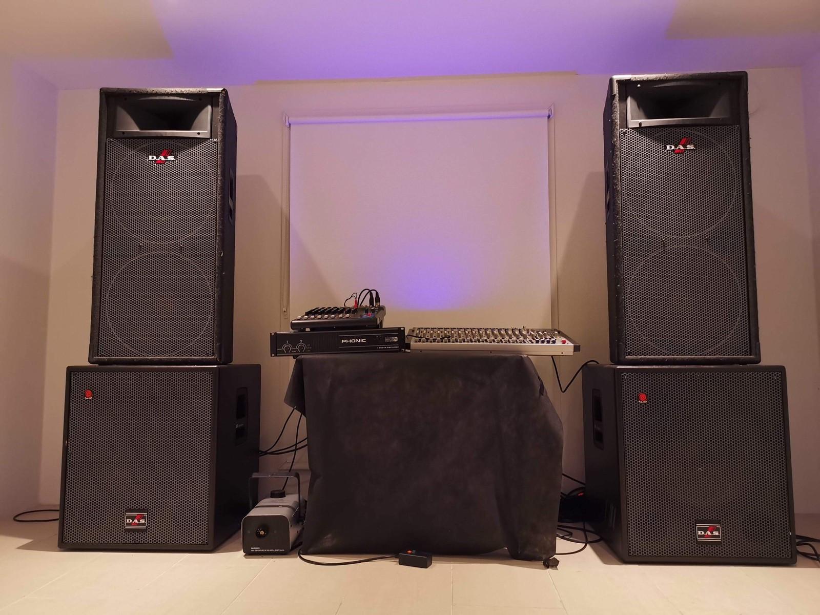 Musikkanlegg utleie (PA Anlegg) Lyd og Lys | FINN.no