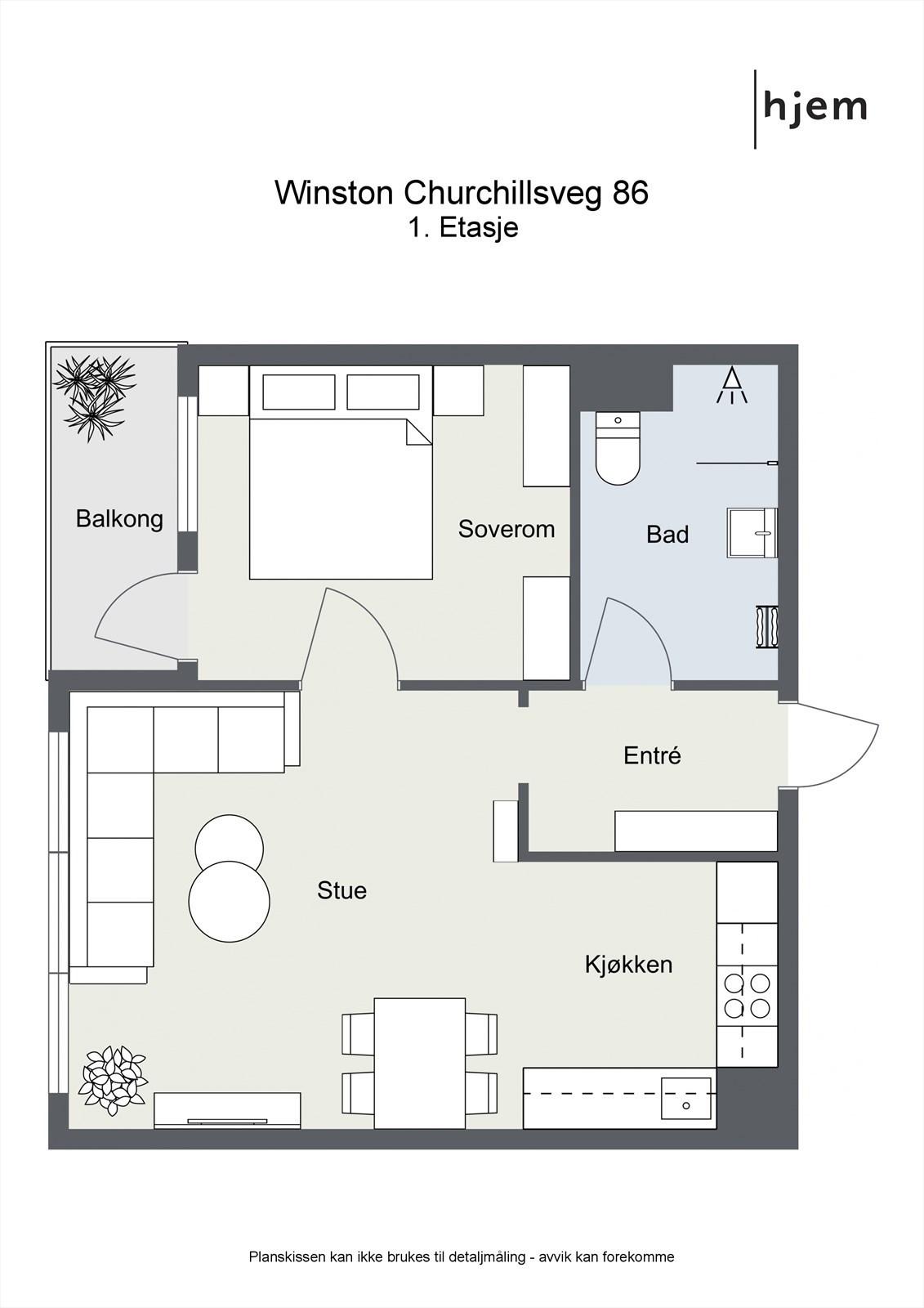 Floorplan letterhead - Winston Churchillsveg 86 - 1. Etasje - 2D Floor Plan.jpg