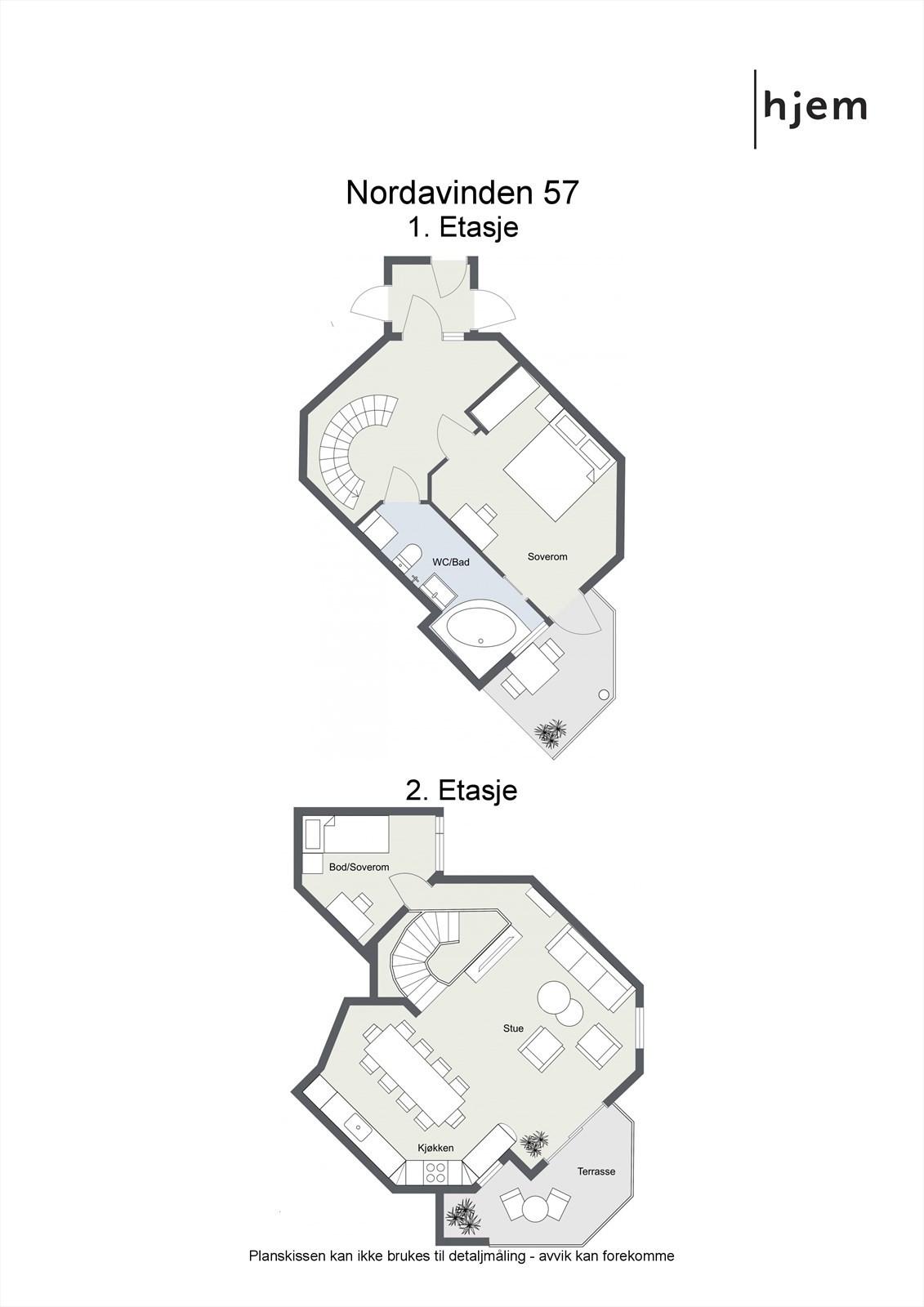 Planløsning i 2D