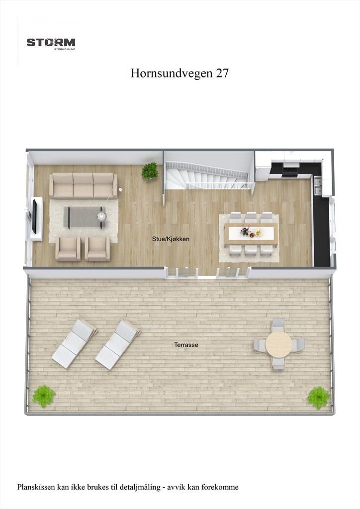 3D planillustrasjon 2.etg