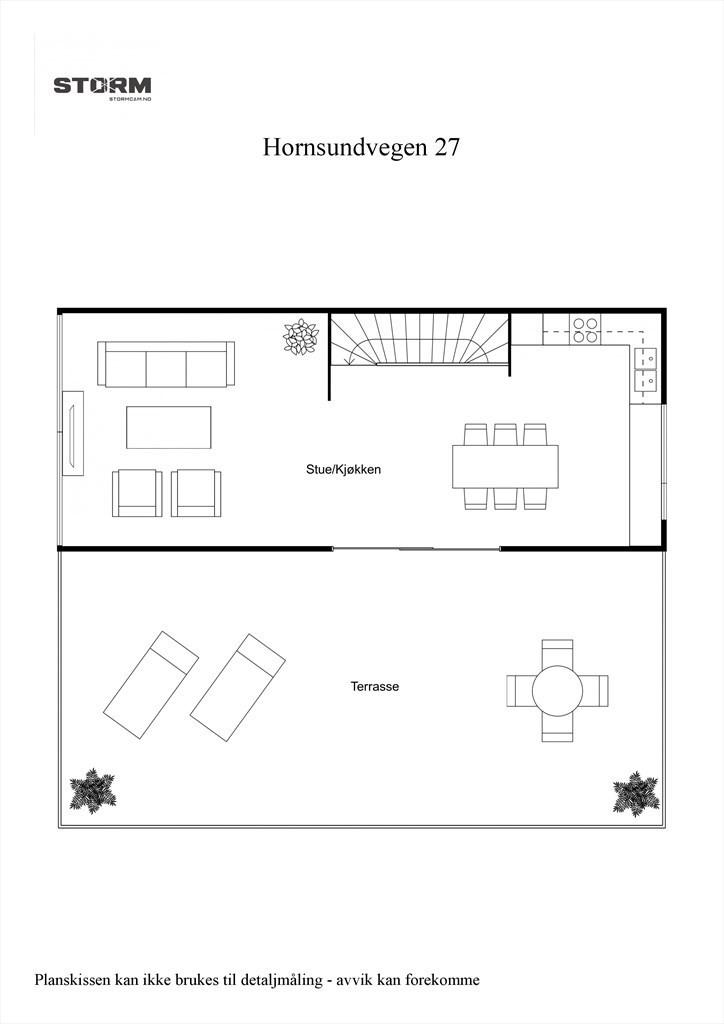 2D planillustrasjon 2.etg