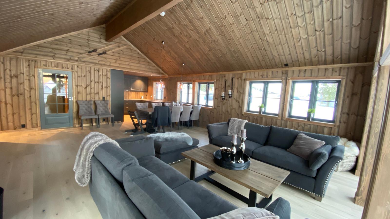 Prosjektert tilsvarende hytte