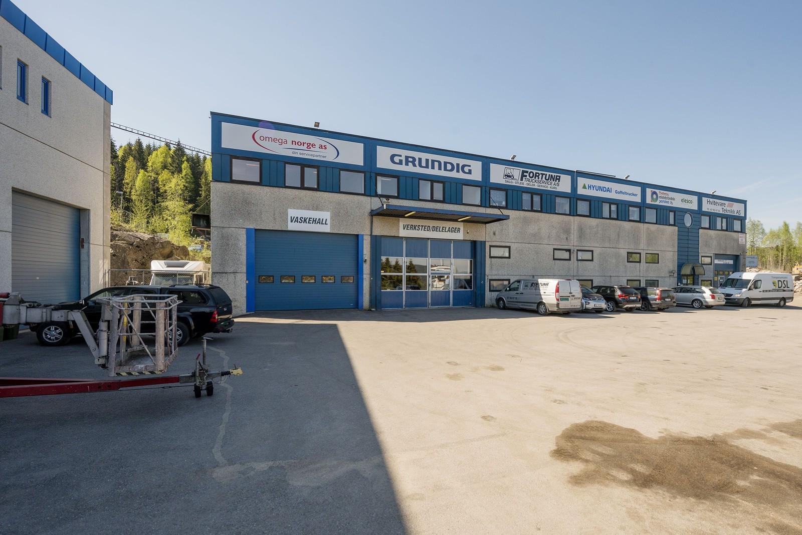 Kjøreporter til verksted/vaskehall