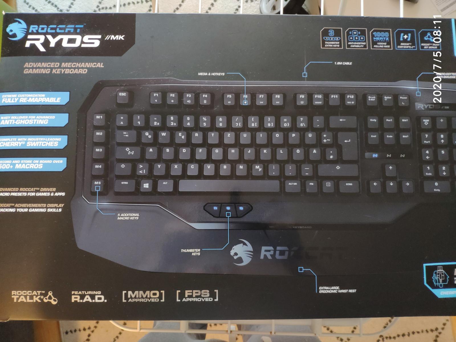 Roccat RYOS MK keyboardtastatur | FINN.no
