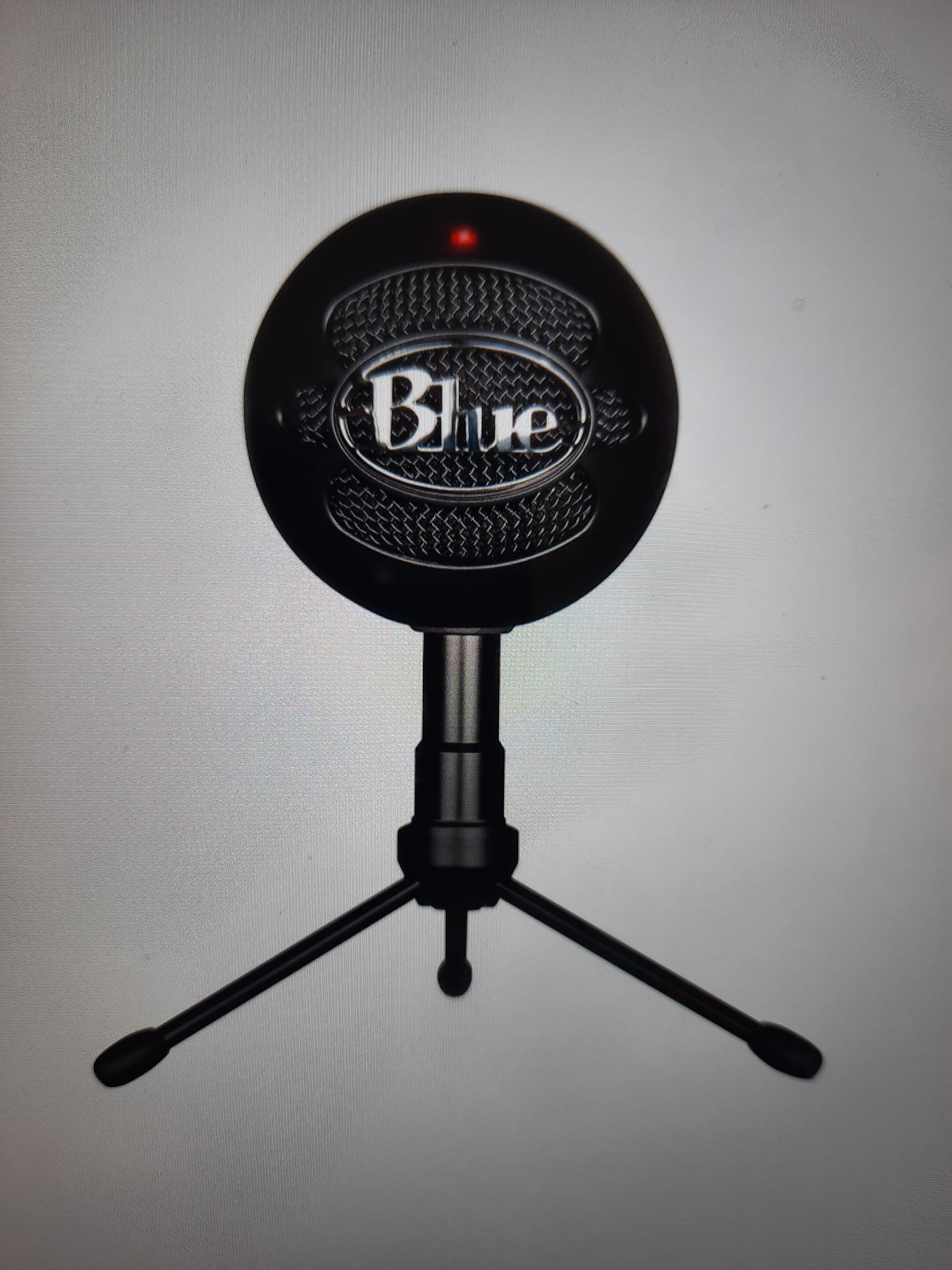 Blue Yeti Mikrofon (Inkl. Morgan Stativ) | FINN.no