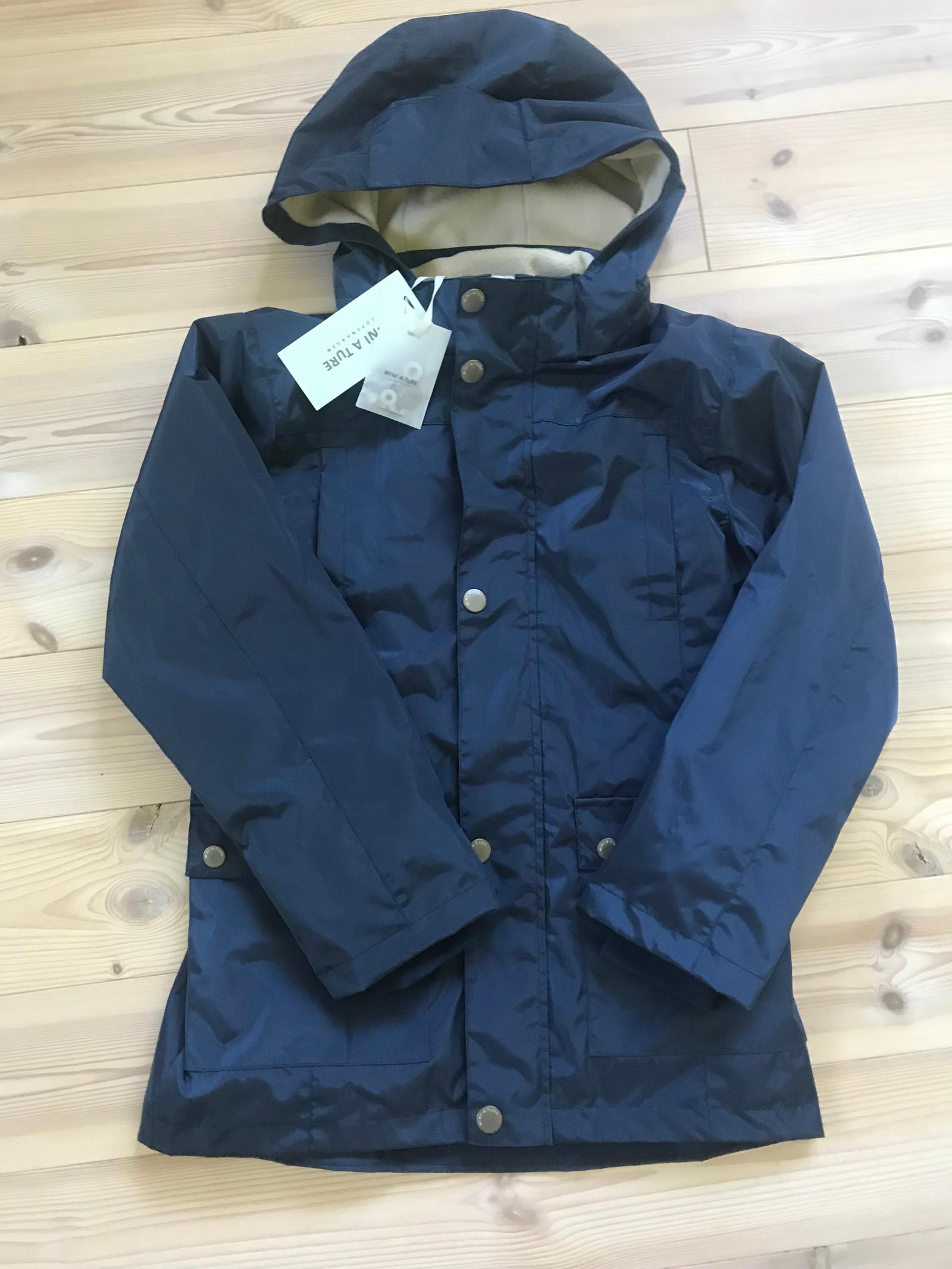 Vårhøst jakke str 134 blå | FINN.no