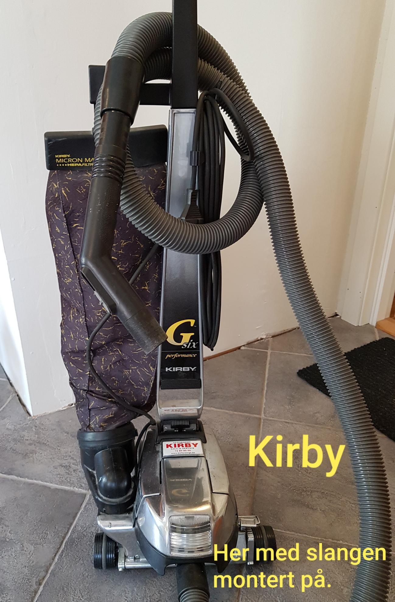 Kirby støvsuger | FINN.no