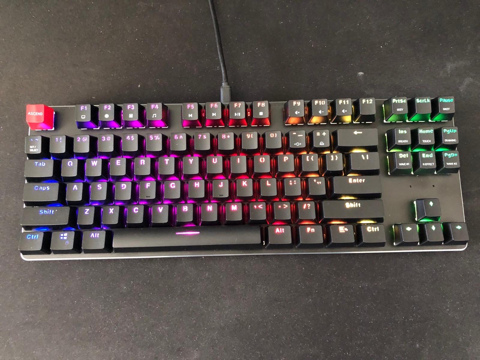 Glorious GMMK TKL Gaming Tastatur Gaming Tastatur