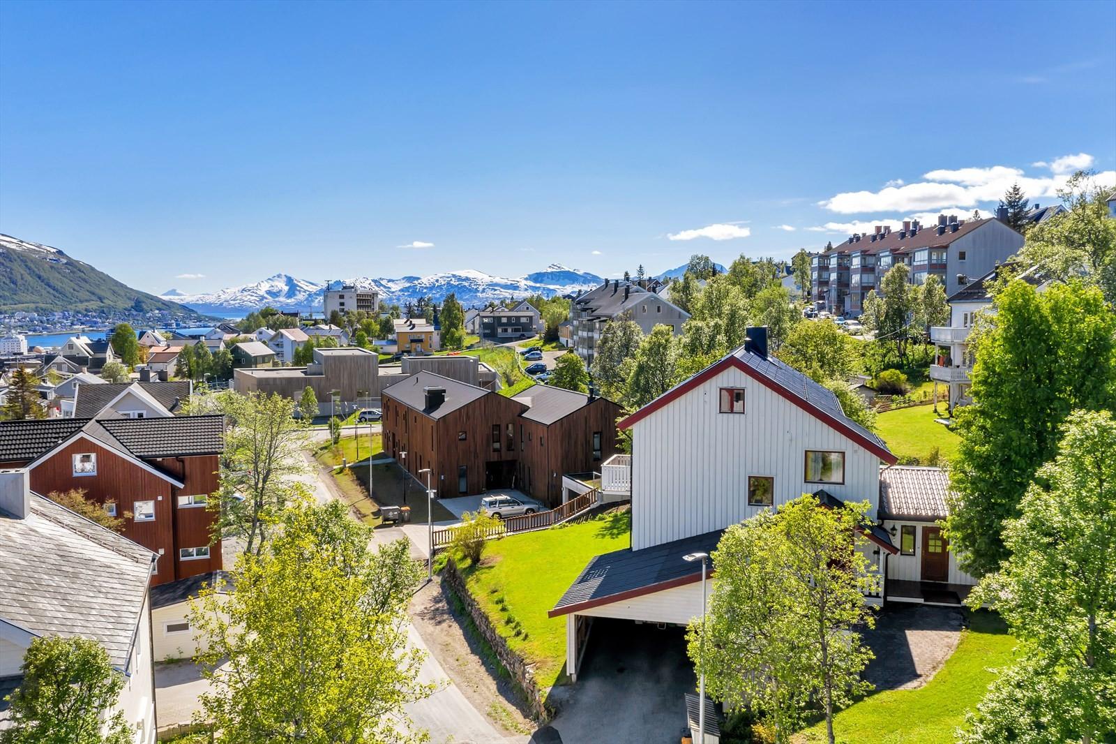Nydelig beliggenhet på Kvamstykket - rett ovenfor Tromsø sentrum