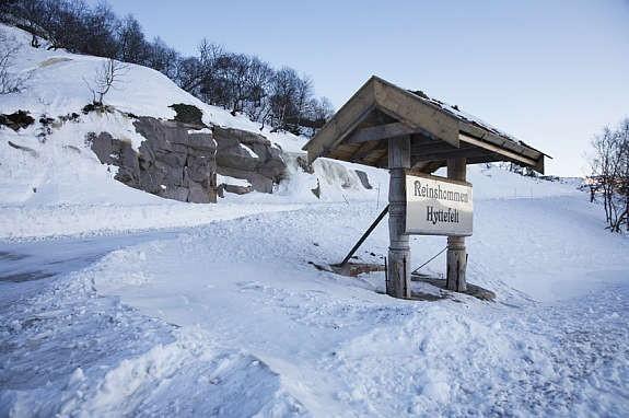 Bilder fra hyttefeltet og området rundt.