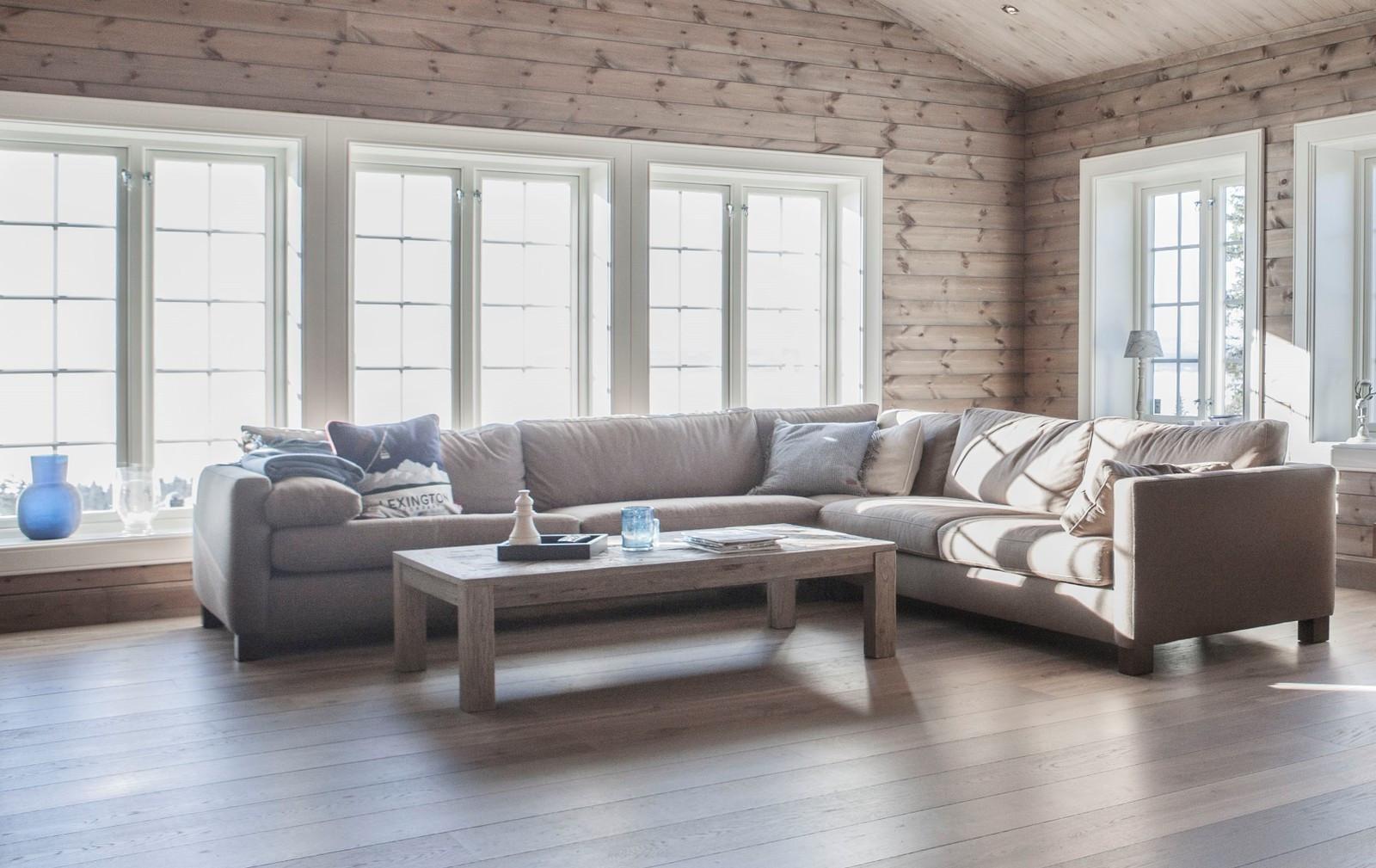 Interiør bilde fra en annen Buen modell Storodde hytte