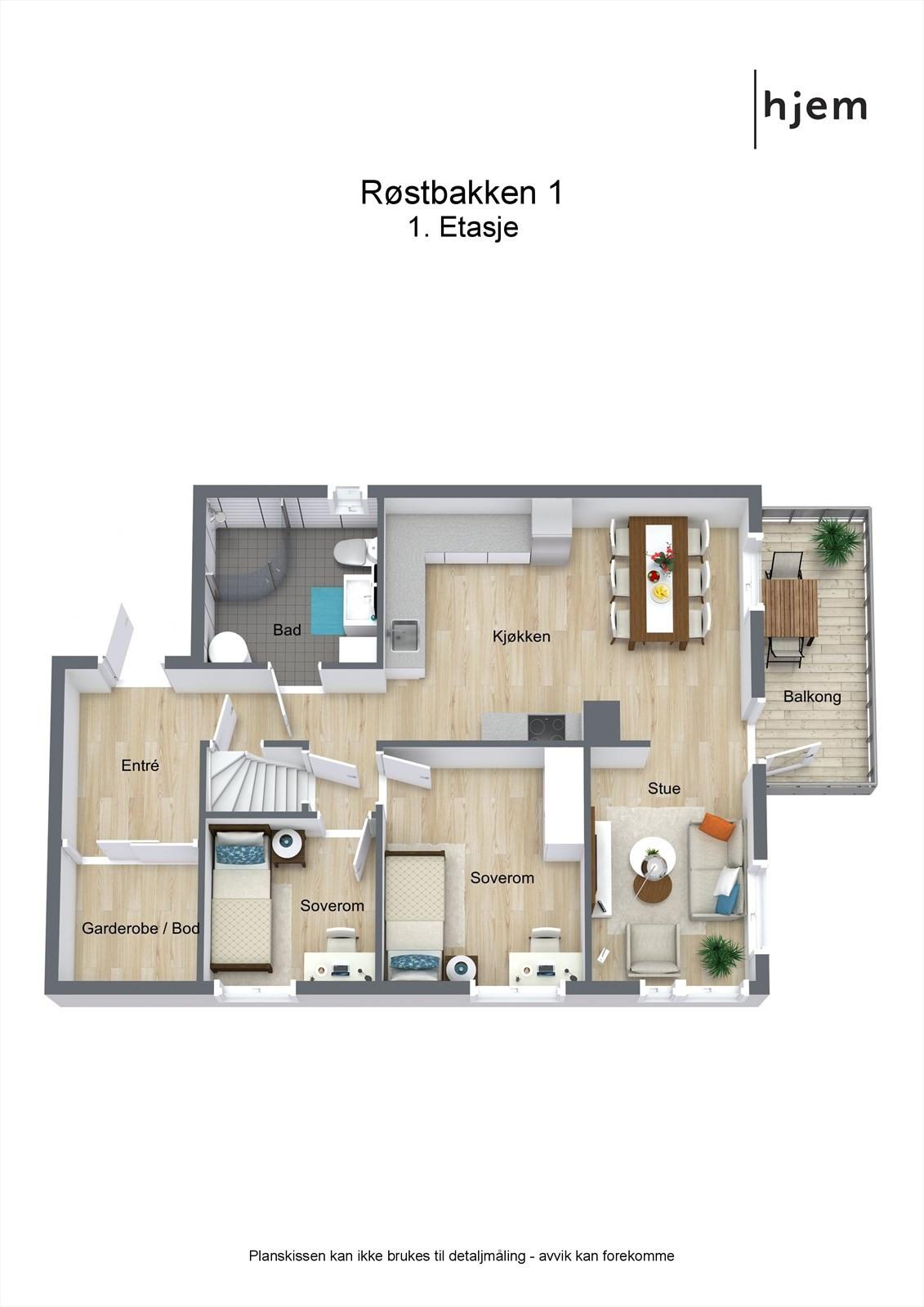 2. etasje ( plan 1)