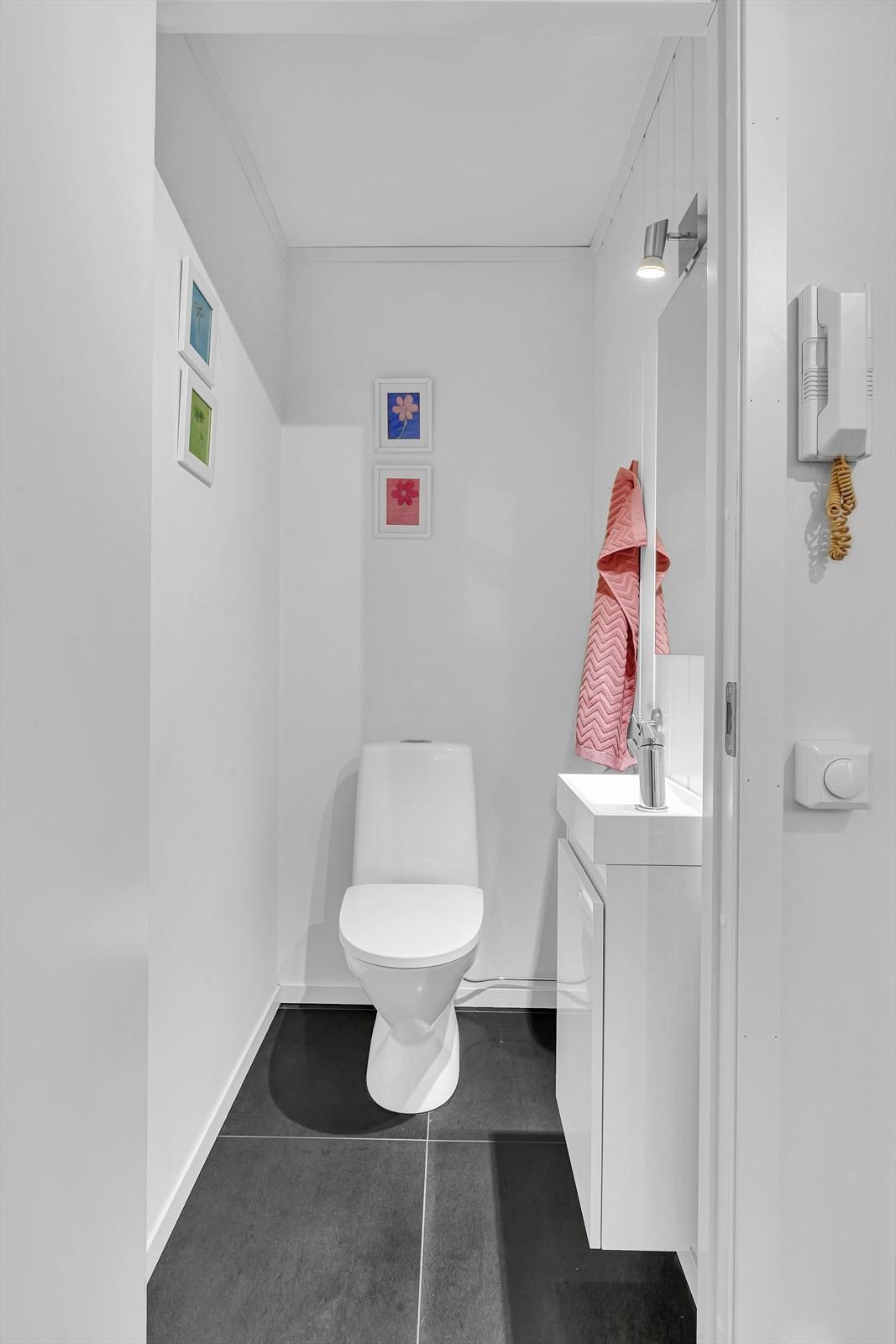 Praktisk med ekstra WC