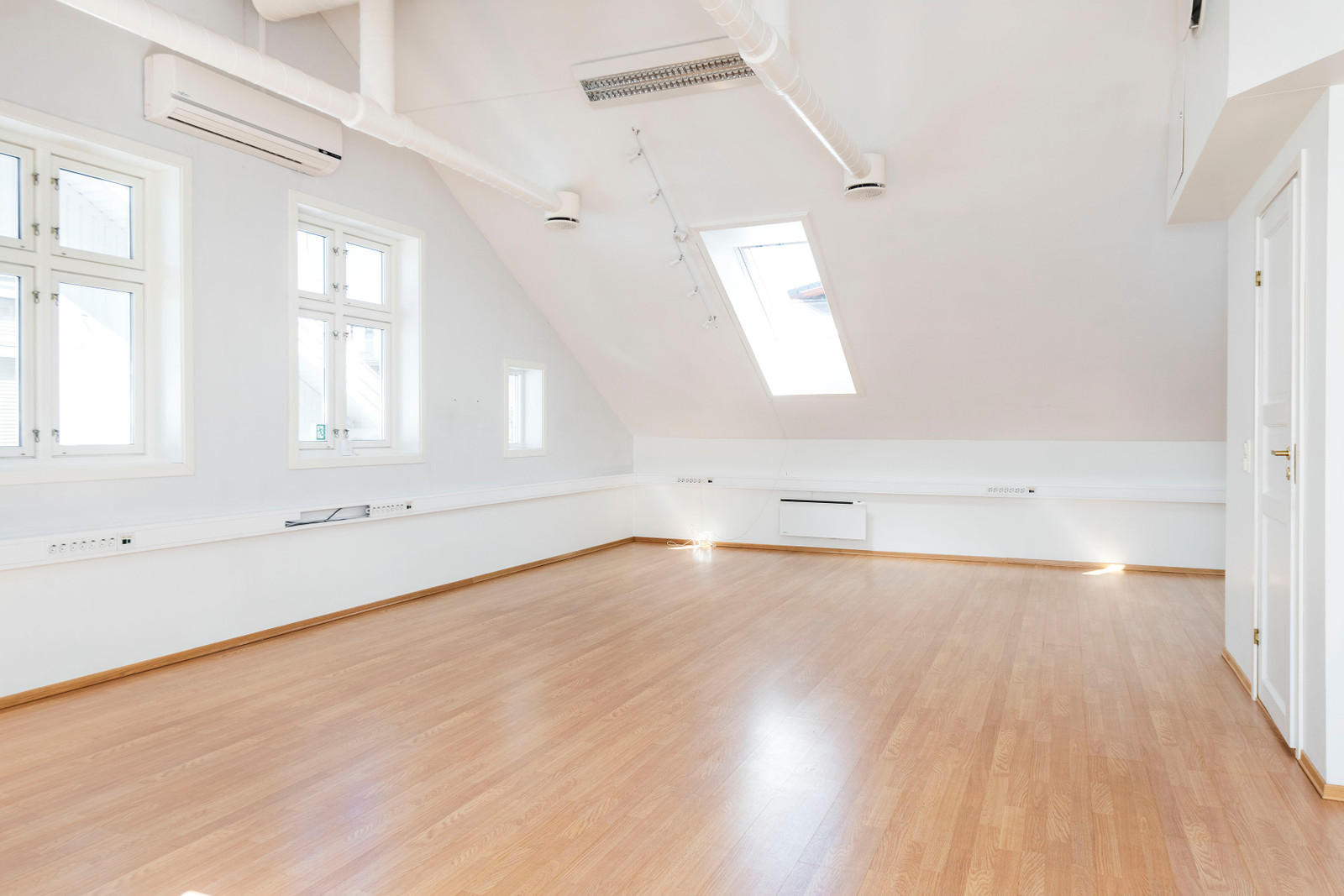 Lyse lokaler med gode lysforhold