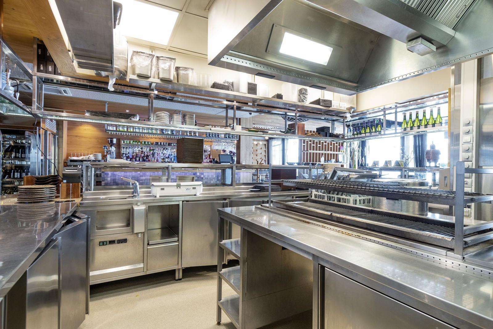 Fullt utstyrt kjøkken