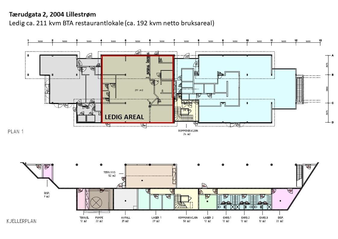 Planskisse - hele etasjen
