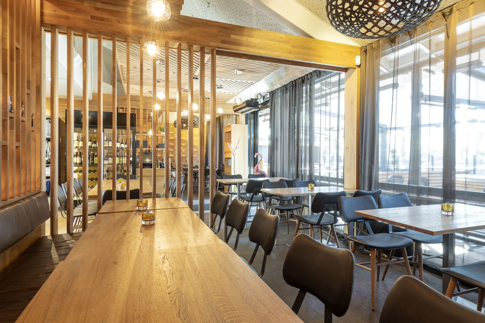 Moderne restaurant sentralt i Lillestrøm