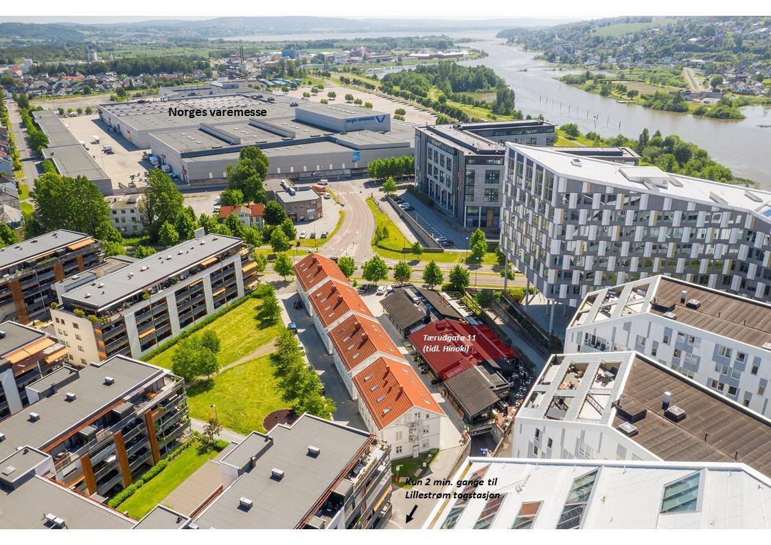 Meget sentral beliggenhet i Lillestrøm sentrum
