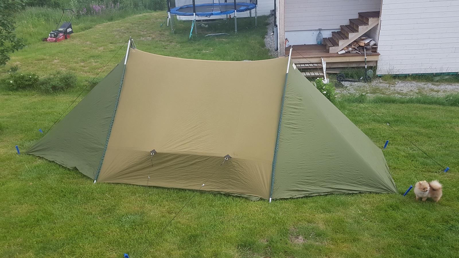 Gresshoppa telt fra 70 tallet | FINN.no