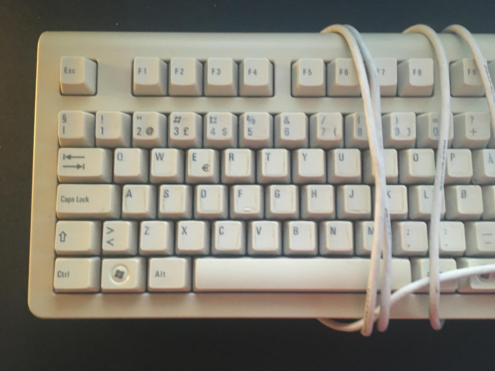 Fujitsu Siemens tastatur og mus. | FINN.no