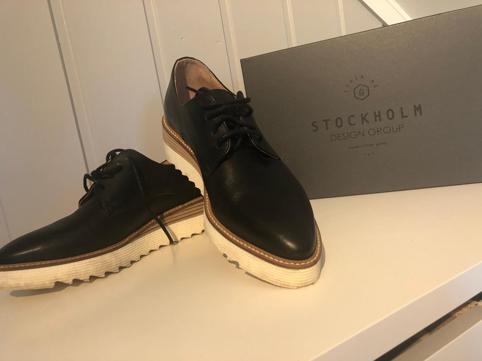 Stockholm designgroup sko 38 | FINN.no