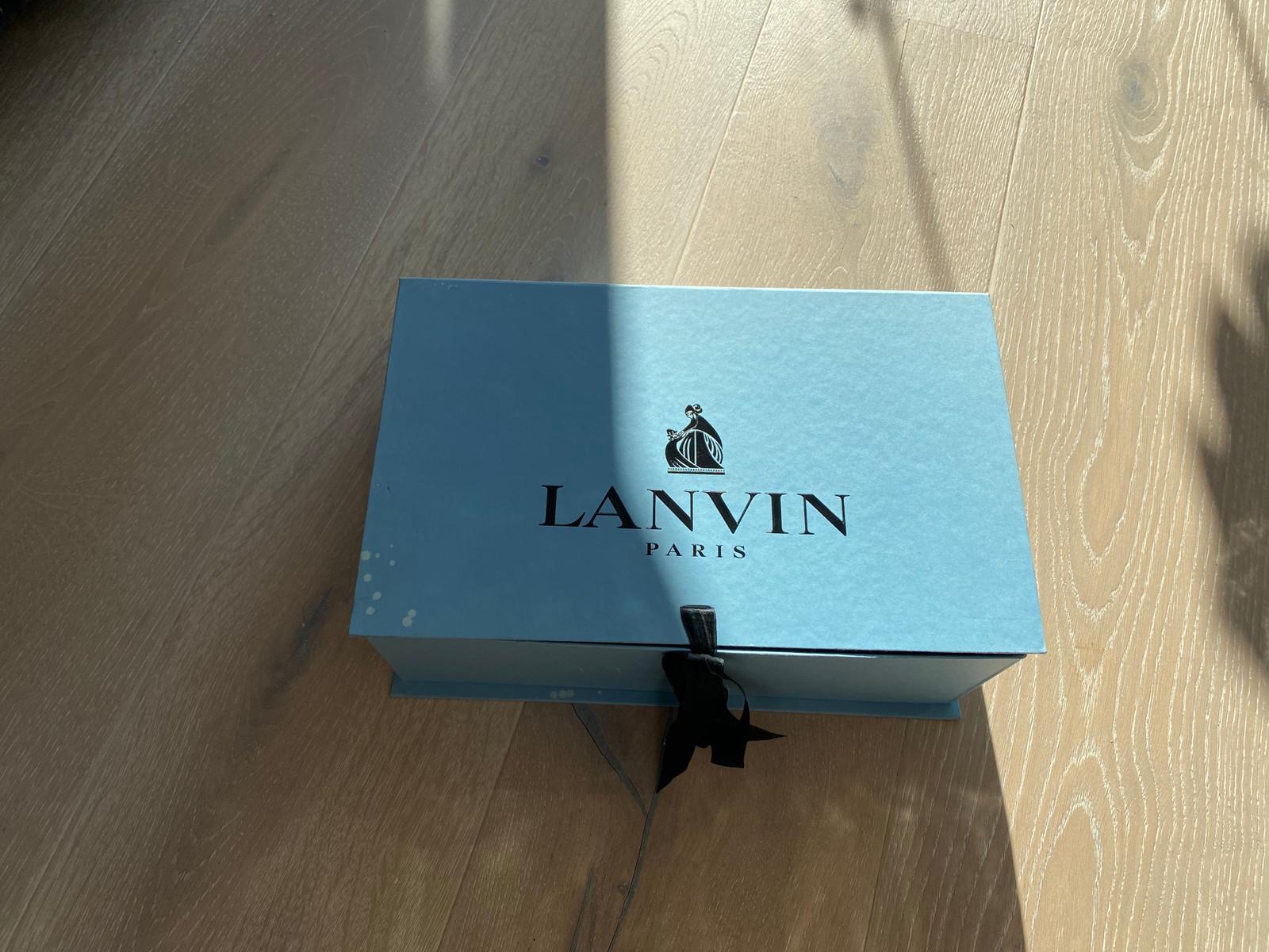 Sko Lanvin Blue Dame Str.37 | FINN.no