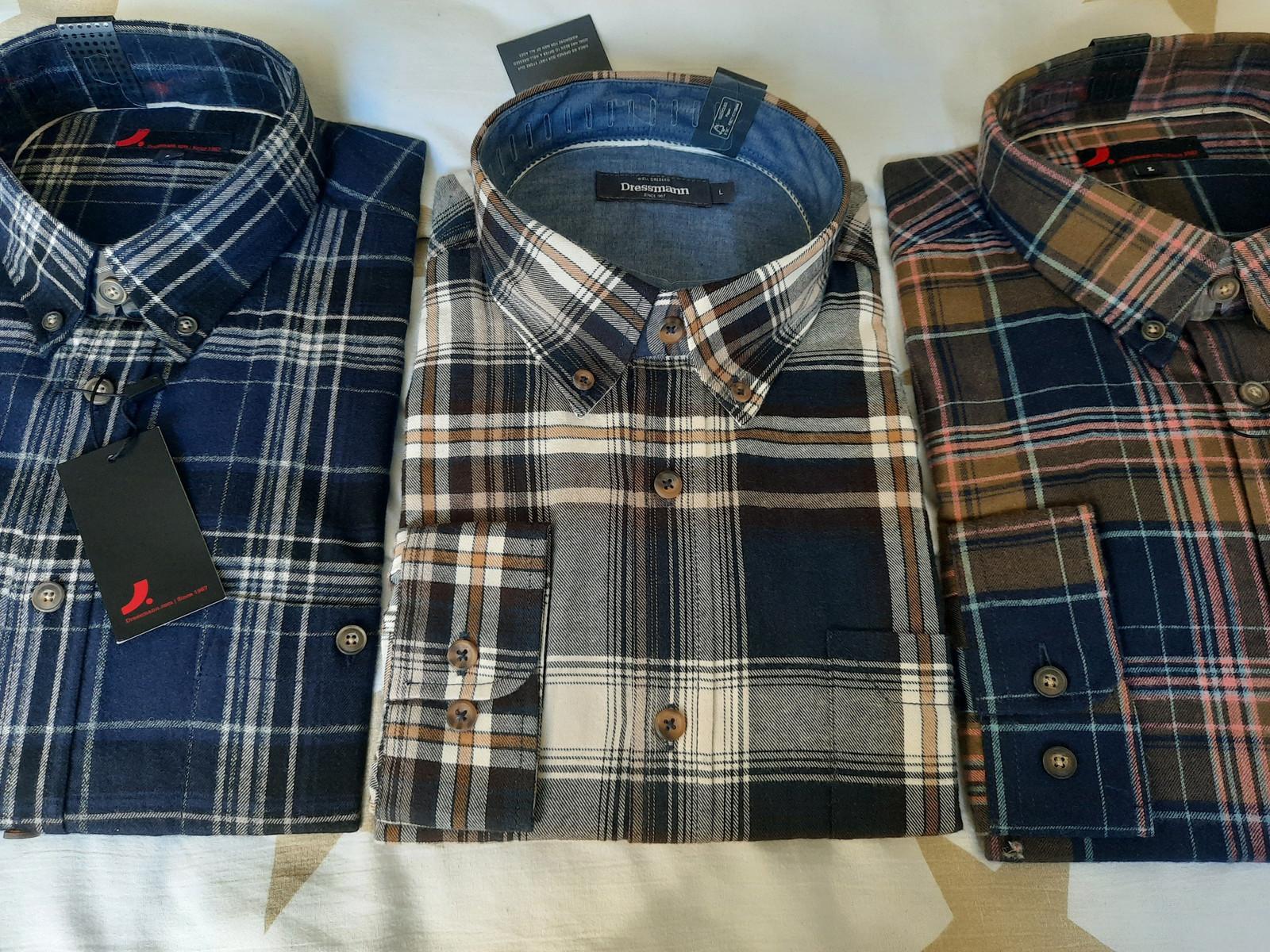 Dressmann skjorter str M | FINN.no