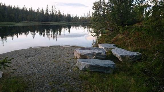 Grillplass v/Nordre Vorsetvann