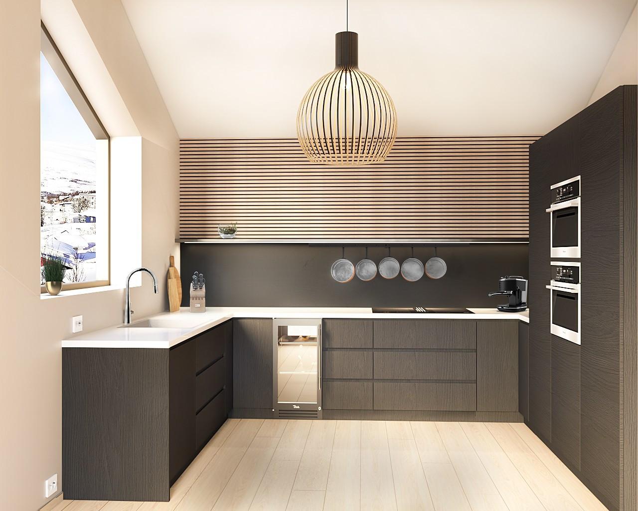 Kjøkken seksjon A